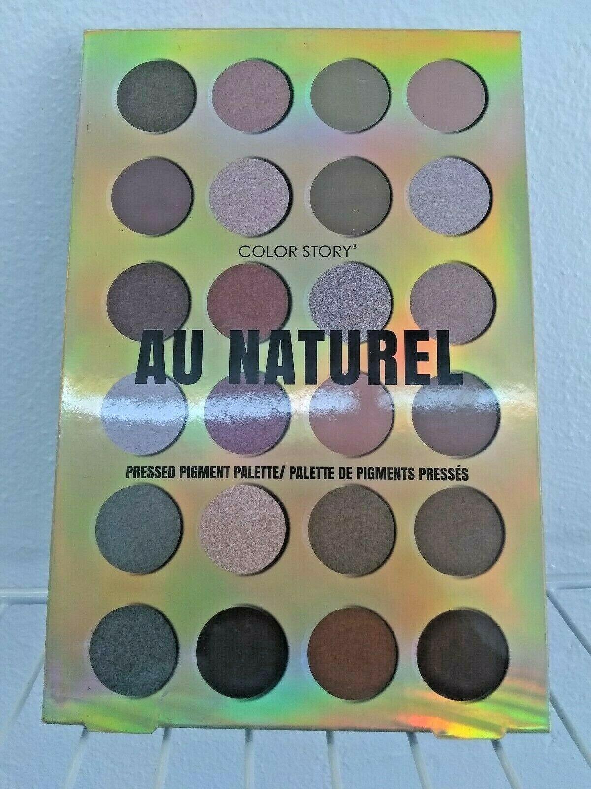 Au Naturel Color Story Pressed Pigment Pallet 24 Colors Eyeshadow