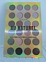 Au Naturel Color Story Pressed Pigment Pallet 24 Colors Eyeshadow image 1