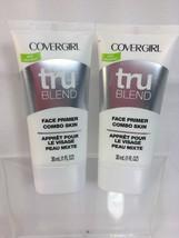 (2) CoverGirl TRUblend Face Primer Combo 1 fl oz For Combination Skin - $10.65