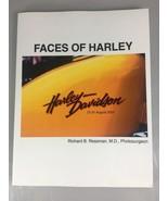 Faces of Harley Davidson Softcover Book Richard Ressman 100th Anniversar... - $38.07