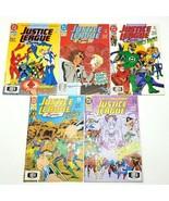 Justice League Europe 37 39 40 41 50 Vol 1  DC Comics Lot of 5 April 198... - $10.69