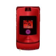 ORIGINAL Motorola V3i RAZR Hot Red 100% UNLOCKED Cellular Phone WARRANTY... - $54.40