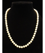 Marvella 23.5 Inch Ivory Simulated Pearl Matinee Length Necklace  - $23.99