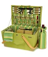 SPRINGTIME ELITE CHEST LUXURY WOODEN PICNIC BOX... - $129.00