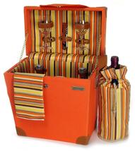 TERAZZO WOODEN PICNIC CASE BOX FOR TWO (2) - €92,41 EUR