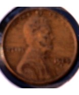 1929 D Lincoln Wheat Cent - Grades VF BROWN - Circulated US Wheat Cent - $4.50