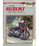 Suzuki GS650 Fours Motorcycle 1981 1983 Repair ... - $12.93