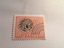France Celtic Coin 0.52 Precanc. mnh 1976    stamps - $1.20