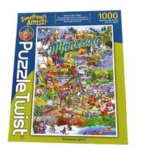Something's Amiss! Minnesota Spirit Puzzle Twist 1000 Pcs NEW In Opened Box - $24.74