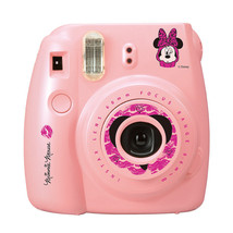 Minnie Mouse FujiFilm Fuji Instax Mini 8 Instant Photos Films Polaroid C... - $85.99