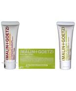 MALIN+GOETZ 3pc Bath+Body Set CONDITIONER+BAR SOAP+MOITURIZER Travel Siz... - $9.98