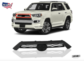 Fit For 14 20 Toyota 4Runner Limited Front Upper Grille Plastic Textured... - $149.59