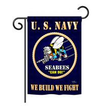 "Sea Bees - 13"" x 18.5"" Impressions Garden Flag - G158071 - $21.57"