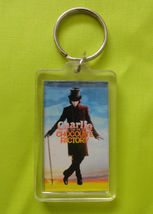 Charlie and the Chocolate Factory Plastic Movie Keyring with Johnny Deep... - $4.99