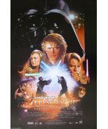 REVENGE OF THE SITH MOVIE POSTER Original DS 27x40 STAR WARS Natalie Por... - $32.00