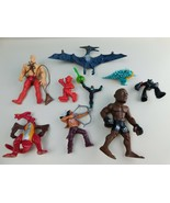 Lot of 9 Creatures Figures Etc Mixed Brands Unknown Grab Bag - $14.84