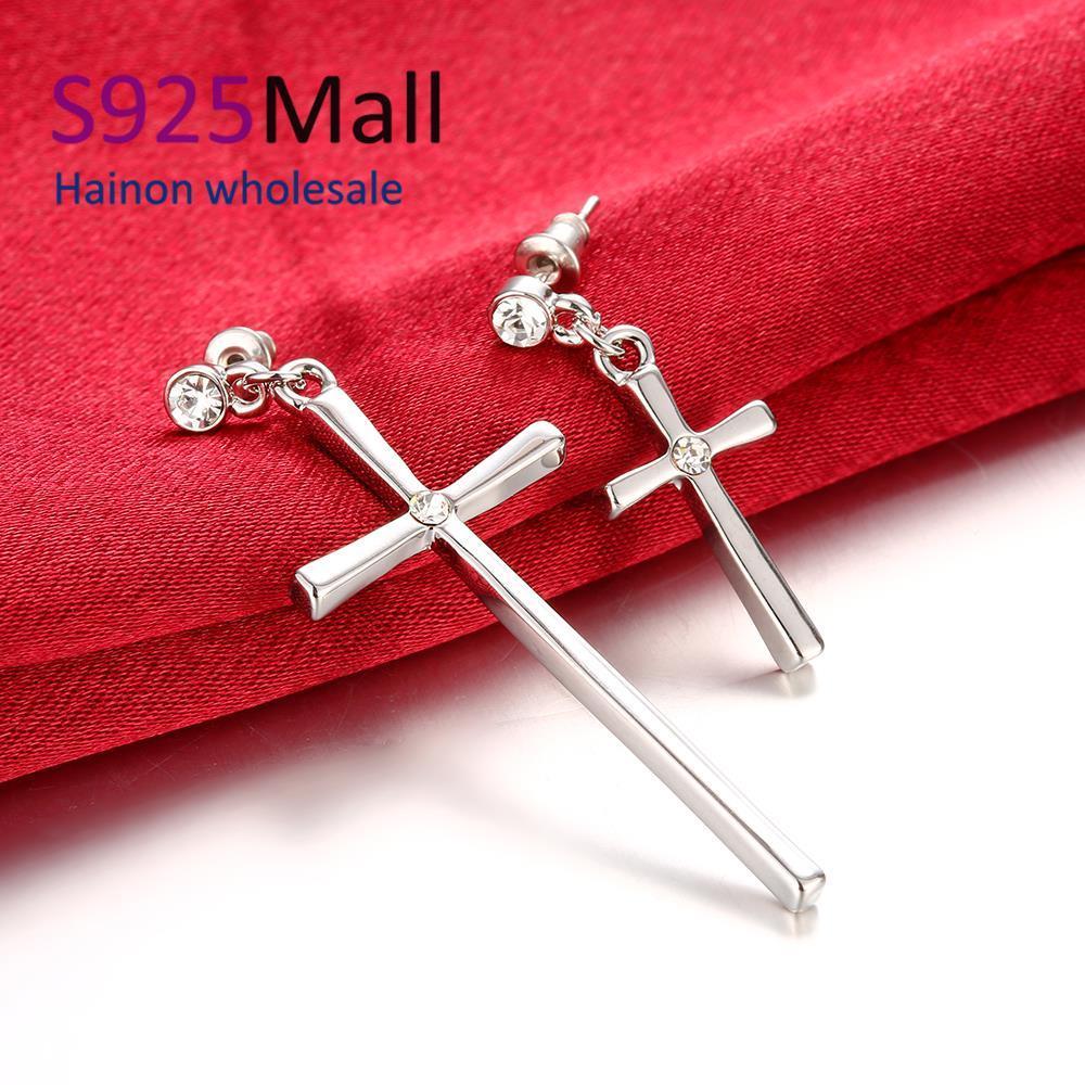 Cross earring for women Wholesale Nickle Free Antiallergic Earrings For Party En