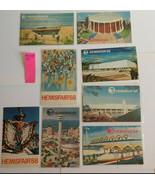 WF9 Lot of 22 Hemisfair '68 World's Fair Postcards Pre-opening 1965 EX-NM - $12.55