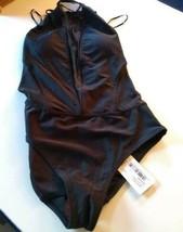 Ted Baker London Black Mesh Panel SwimSuit Size 1/ XS US image 1