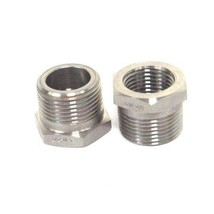 """LOT OF 2 NEW GENERIC FG803 FITTING REDUCERS 1/2"""" X 3/4"""" image 2"""