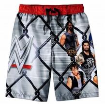WWE JOHN CENA REIGNS UPF50+ Bathing Suit Swim Trunks Boys Sz 4/5 6/7 8 1... - $20.84