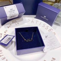 Swarovski ICONIC SWAN Double Swan Necklace pendant jewelry gift image 2