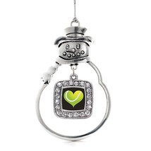 Inspired Silver Heart Of A Tennis Player Classic Snowman Holiday Christmas Tree  - $14.69
