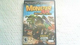 Monster 4x4: Masters of Metal (Sony PlayStation 2, 2003) - $6.99