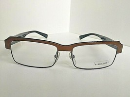 New ALAIN MIKLI AL 10560201 55mm Large Bronze Eyeglasses Frame France - $249.99