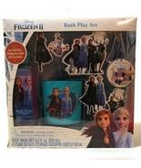 Disney Frozen 2 Bath Time Play - Set Wet & Stick w/ Body Wash 9pc Free S... - £9.68 GBP