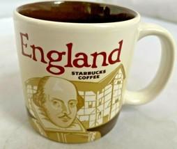 Starbucks Mug England Collector Series Mini 3 Oz Mug Cl EAN No Damage Euc - $19.30