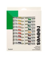 Reeves Acrylic Paint 10ml Tubes, Set of 24, - $18.67