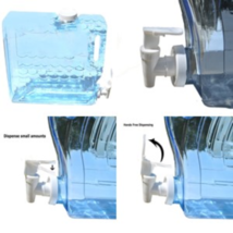 Compact Beverage Container Water Dispenser Fridge Bottle 1.25 Gallon BPA... - $16.58