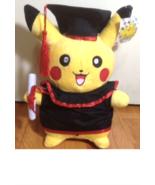 """Pokemon Pikachu Plush """" Graduation Plush""""  12"""" Perfect Gift - $35.99"""