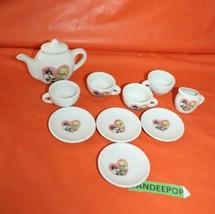 Vintage Warner Bros 1996 Mini Pretend Play Childrens Tea Set Tweety Sylvester - $29.69