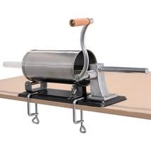 Commercial Kitchen Hot Dog Maker Meat Filler Machine Sausage Stuffer Fil... - $62.10