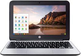 HP Chromebook 11 G3 11.6-inch Intel Celeron N2840 2GB 16GB SSD Storage Google Ch - $94.69