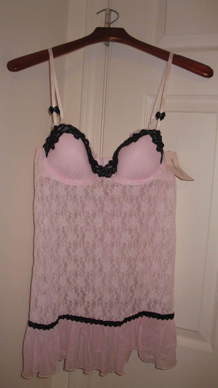 Women Lingerie Linea Donatella 2-Piece Pink  Medium