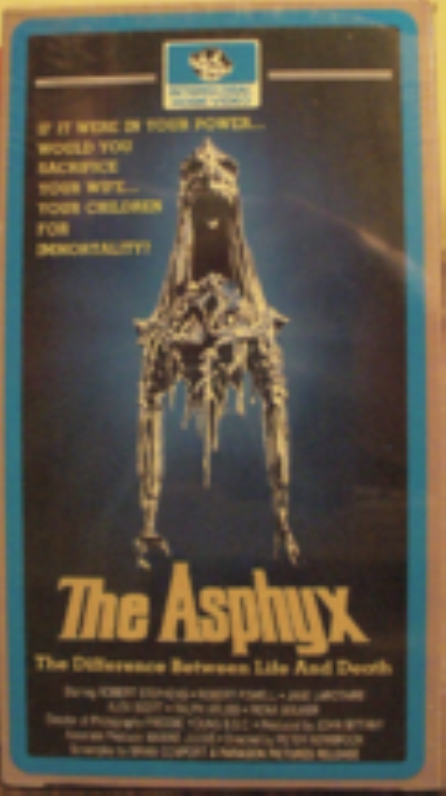 The Asphyx Vhs