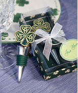 Luck Irish Pub Wine Beverage Bottle Stopper St. Patricks Day NEW In Gif... - $13.99