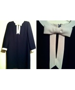 CHETTA B Peter Noviello Sherri Bloom Neiman Marcus Saks designer long dr... - $48.00