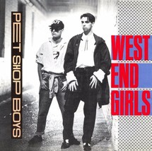 PET SHOP BOYS (WEST END GIRLS) ALBUM COVER POSTER 24 X 24 POSTER  - $18.99