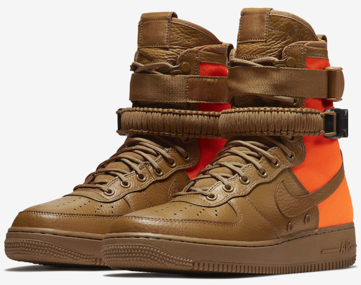 new product fc920 2d98d NIKE SF AIR FORCE 1 DESERT OCHRE MEN SIZE 8.5 NEW 903270 778