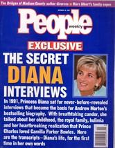 People Magazine October 23, 1997 The Secret Diana Interviews - $1.75