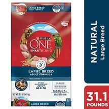 Purina ONE Natural Large Breed Dry Dog Food, SmartBlend Large Breed Adul... - $57.29