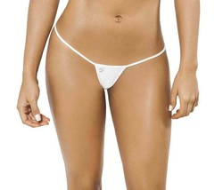 Joe Snyder Women Skyros V-String White-OS White One Size JSW102-White-OS... - $18.81
