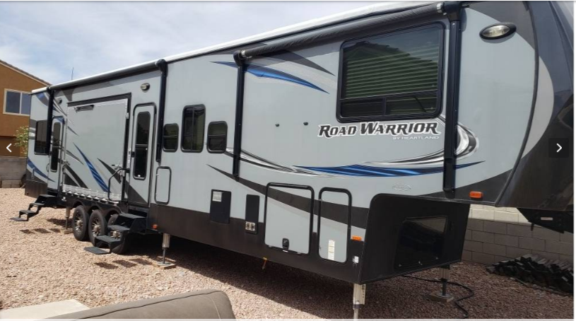 2016 HEARTLAND ROAD WARRIOR 427RW For Sale In LAS VEGAS NV 89118