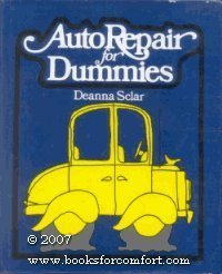 Auto Repair for Dummies by Deanna Sclar (1976-05-03) [Hardcover]