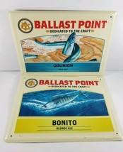 Ballast Point Brewing Company, Bonito & Grunion, Embossed Tin Tacker Bee... - $19.99