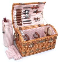 COUTURE COLLECTION WILLOW & SEAGRASS DELUXE PICNIC BASKET FOR TWO (2) - B - $98.00